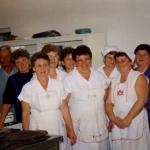 a konyhai személyzet