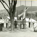 Füzérradványi úttörőtábor megnyitása