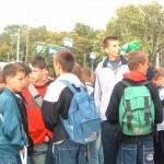 táborozás a Balatonon