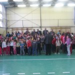 Dr. Hegedűs Csaba Olimpiai Bajnok birkózó látogatása iskolánkban