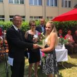 ZEMA Porcelánmanufaktúra Kft. díjat nyert kitűnő tanuló: Kurtos Vanessza