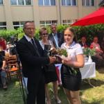 ZEMA Porcelánmanufaktúra Kft. díjat nyert kitűnő tanuló: Nagy Zsófia