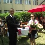 ZEMA Porcelánmanufaktúra Kft. díjat nyert kitűnő tanuló: László Cintia